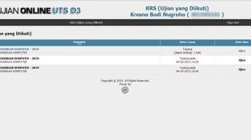 Ling Ujian Kampus.Bsi.ac.id