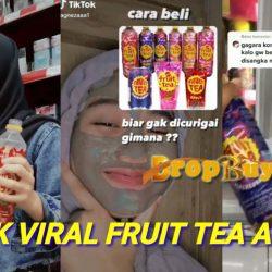 Fruit Tea Viral, Blackcurrant Rasa Anggur Di TikTok