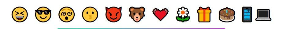 emoji-tengah