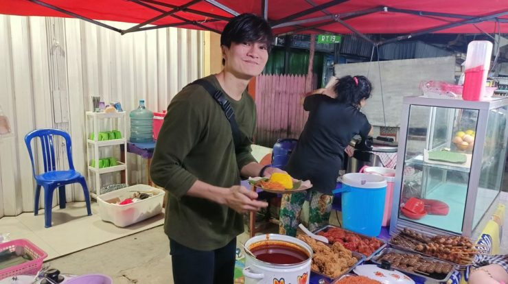penjuak nasi kuning viral
