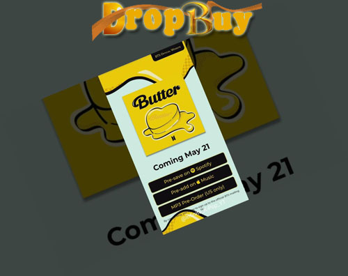 create your butter card bts