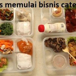 cara memulai bisnis catering