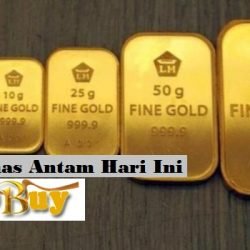 Harga Emas Antam Hari Ini 24 Karat Bulan Juni 2021