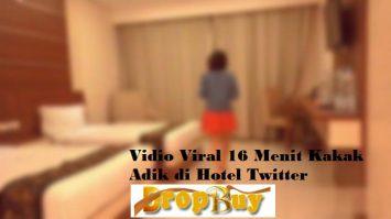 Vidio Viral 16 Menit Kakak Adik di Hotel Twitter